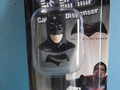 "DC Comics Batman Pez Dispenser 5""in Tall w/Candy    ""Package Squished"""