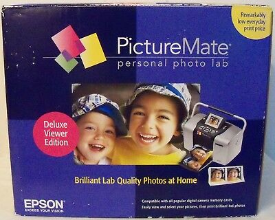 EPSON Picture Mate Deluxe Personal Photo Lab (C11C618001)