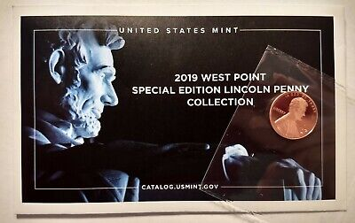 2019 W Lincoln Penny Premium PROOF West Point Struck NEW