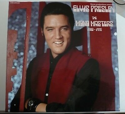 ELVIS PRESLEY BOX The MONO Masters: 1960-1975, 5 CD Box Set, Label: VENUS