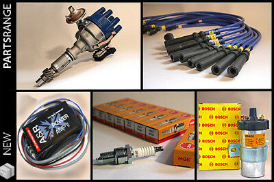 Rover V8 Ignition Kit Complete Distributor A&R Amp Magnecor Leads Coil Plugs