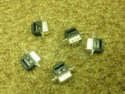 IDC Connector D Sub 9 Way - Pack of 5