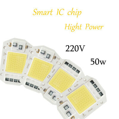 Smart IC Driverless COB LED Lamp Chip for Floodlights DIY 50W Cool White