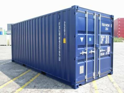 20ft NEW Self Storage Shipping Container FOR HIRE - WREXHAM
