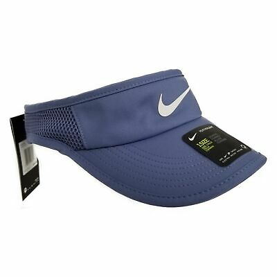bde01babc NIKE COURT AEROBILL TENNIS NWT Womens One Size Featherlight Visor ...