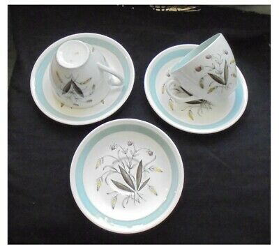 4 x Alfred Meakin ~ Hedgerow ~ Cups and Saucers