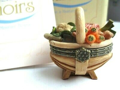 New Boxed Country Artists Memories Golden Harvest Trinket Box