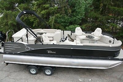 New-2585 Cascade Tahoe cruise pontoon boat
