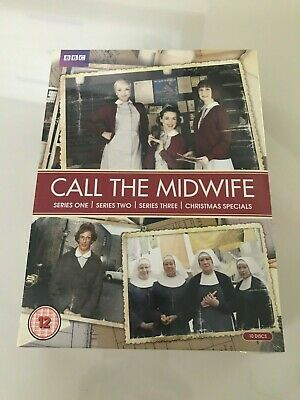 Call The Midwife - Series 1-3 - Complete (DVD, 2014, 10-Disc Set, Box Set) *NEW*