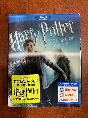 Harry Potter and the Half-Blood Prince (Blu-ray/DVD, 2011,2-Disc Set)No Digital