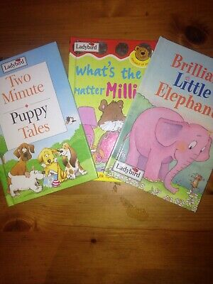 ladybird books set of 3- worth £6