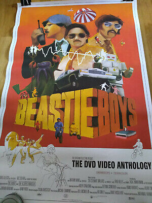 Beastie Boys DVD Video Anthology Promo Poster Criterion 2000   Capitol Records
