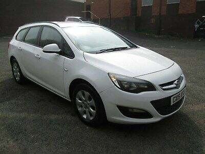 2015 Vauxhall Astra Exclusive Cdti Ecoflex F/s/h Full Mot ?? £20 Tax Facelift