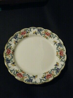 Vintage Booths/doulton Floradora Large 27cm Dinner Plates X4 Pottery & Glass Pottery & China
