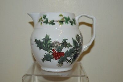 Portmeirion Holly & Ivy 0.5 Pint Staffordshire Jug New & Unused
