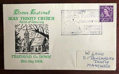 Cover Flower Festival Craigavad Holy Trinity Church County Down 18 May 1968