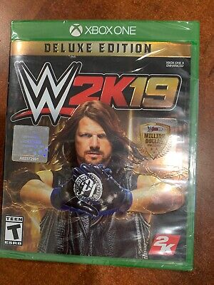 NEW Sealed WWE 2K19: Deluxe Edition - Xbox One