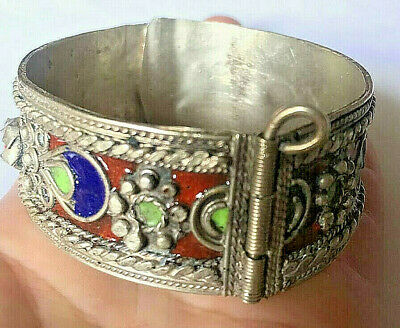 ANCIENT VIKING SILVER BRACELET artifact very Stunning UNIQUE