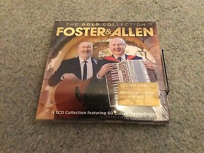 New and Sealed Foster & Allen - The Gold Collection - CD