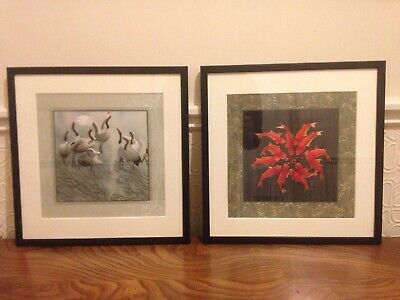 Beautiful Silk Embroidery Pictures Japanese Style Koi Carp Crane Lace Wall Art