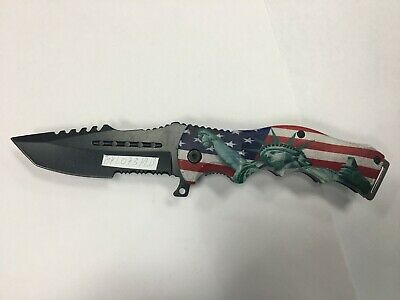Hiking Camping Knife Tactical Assisted Folding Pocket Knife with Belt Clip