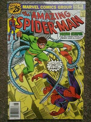 Amazing Spider-Man #157  : Bronze Age - Jun 1975 - Doctor Octopus Appearance VG+
