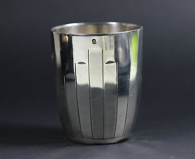 Trinkbecher Art Deco  950 Silber Frankreich Timbale silver cup tasse