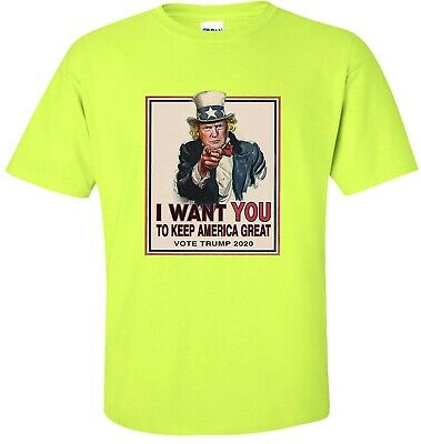 I Want You To Keep America Great Vote Trump 2020 T-Shirt