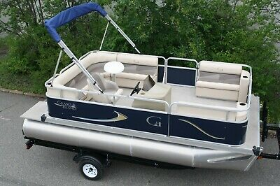 New 16 ft  pontoon boat--   Factory Direct