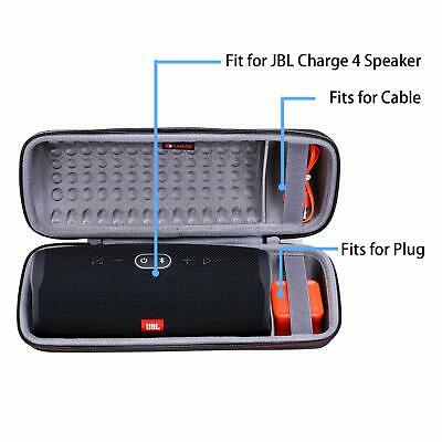 XANAD Hard Case for JBL Charge 4 Portable Waterproof Wireless Bluetooth Speaker