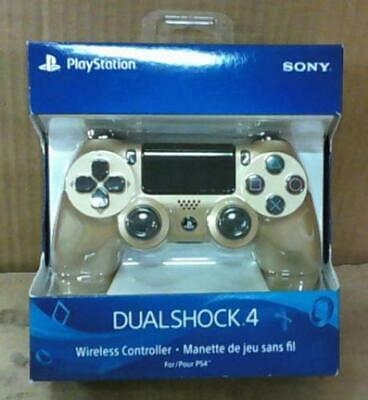 NEW DualShock4 Wireless Controller, Gold, PlayStation 4 PS4 Gold Edition $68