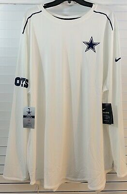 f4d19c60 Dallas Cowboys Nike Dri-Fit MEN'S SIZE 3XL Long Sleeve Breathe Sideline  Shirt