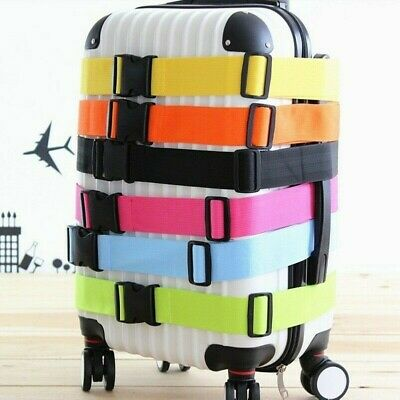 Travel Luggage Strap Adjustable Suitcase Belt Buckle Holder Safety Extra Quality