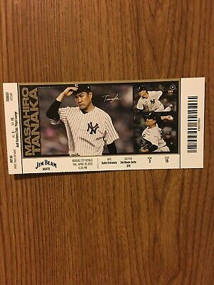 New York Yankees 4/18/19 vs Kansas City Royals Mike Ford MLB Debut Mint Ticket