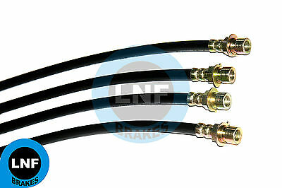 Cadillac Hearse Ambulance Commercial ''68'' Brake Hose Front Rear Set X4 1960 60
