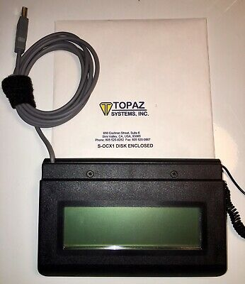 Topaz Systems SignatureGem T-L462-USB Signature Pad With Pen NEW!!!