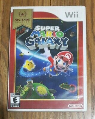 Super Mario Galaxy (Nintendo Wii, 2007) Complete - Tested and Working