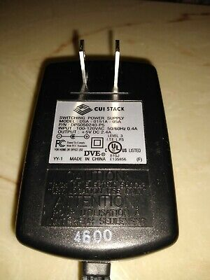 Cui Stack Switching Power Supply Model Dsa-0151A-05A 100-120Vac Out +5V Dc 2.4A