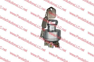 HYSTER FORKLIFT TRUCK S30XLB010 IGNITION SWITCH WITH KEYS