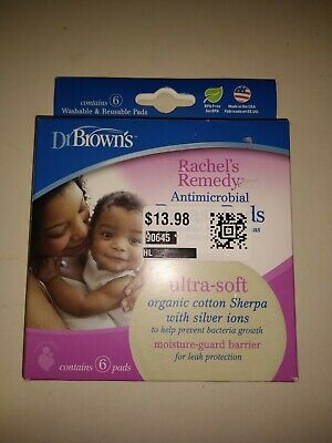 Dr.Brown's Rachel's Remedy Antimicrobial Breast Pads 6ct.
