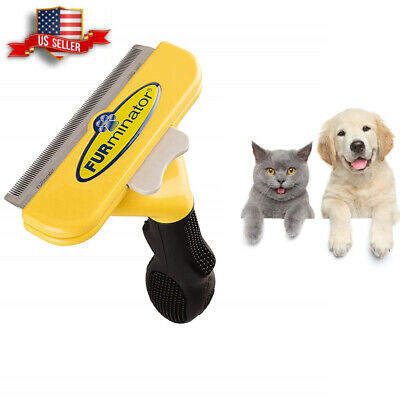 FURminator New Brush Comb For Pet Dogs Cat Short Long Hair Tool S/L Size