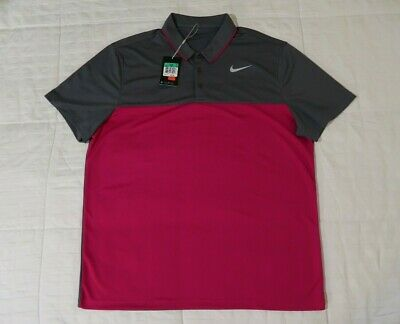 66b0b173 Men's DriFit Nike Icon Color Block Golf Polo SZ XL 882085 New With Tags  MSRP $65