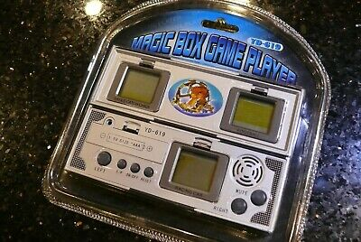 3X SCREEN FOOTBALL  Auto Race Handheld Electronic Video Game  ✨SEALED✨ #2