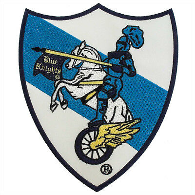 Blue Knights Motorcycle Club Patch