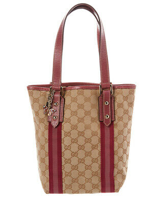 edbcce1a53b GUCCI BEIGE PINK GG Supreme Blooms Coated Canvas Small Dionysus ...