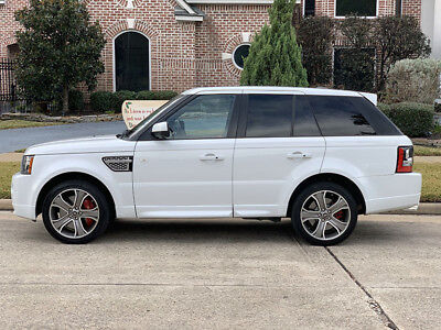 2013 Land Rover Range Rover Sport Autobiography 2013 Land Rover Range Rover Sport Supercharged Autobiography One Owner
