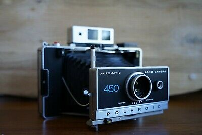Polaroid 450 Land Camera with AAA Battery Conversion