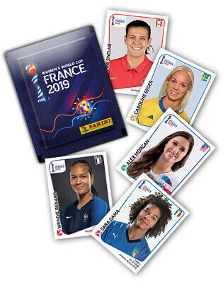 PANINI WC frauen WOMEN FRANCE 2019 STICKERS AU CHOIX ,choose 5 sticker = 1,25€