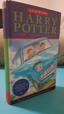 Harry Potter and the Chamber of Secrets Hardback UK First Edition 26th Print