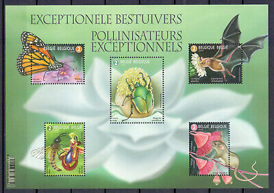 BELGIUM 2019 insects M/S MNH** BLN20194